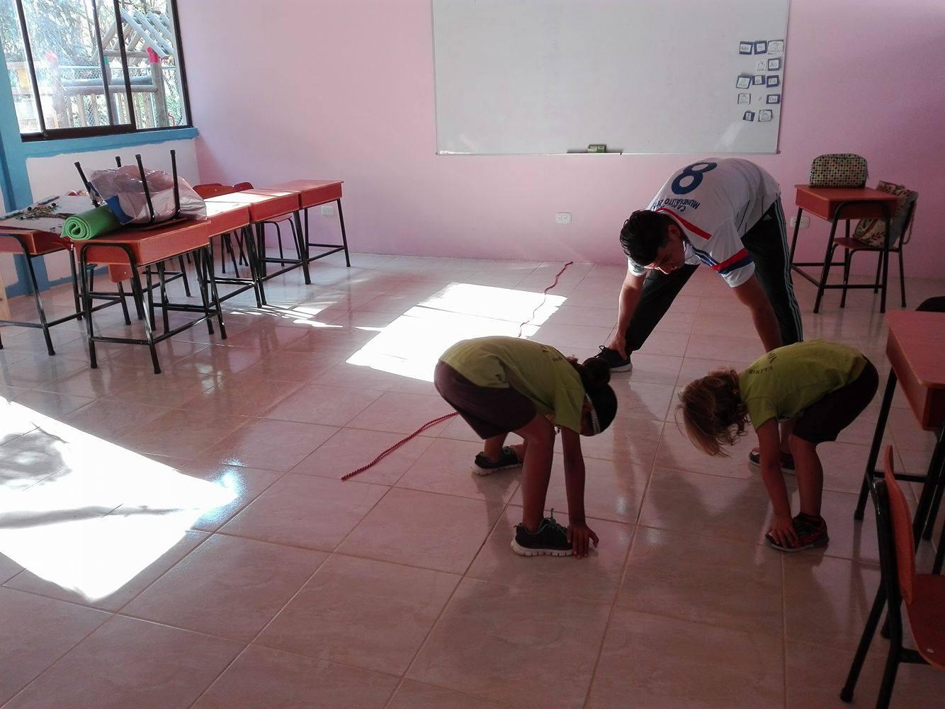 parte de las actividades de educación física